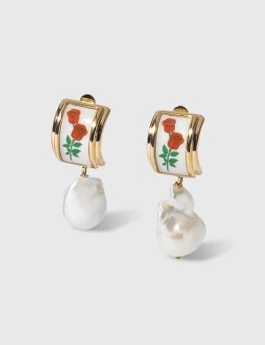 Safsafu Rosa Earrings