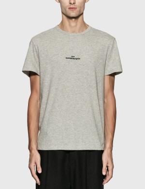 Maison Margiela Reversed Logo Embroidery T-Shirt