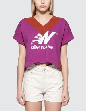 Aalto Knitted V-neck Short sleeve T-Shirt