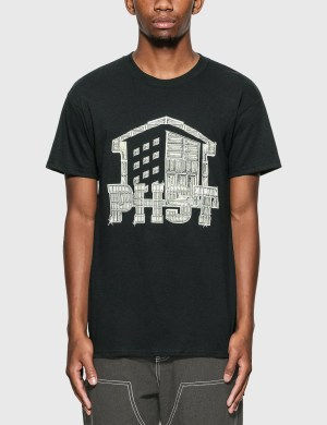 Public Housing Skate Team Shine Logo T-Shirt