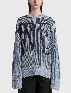 We11done WD Jacquard Sweater