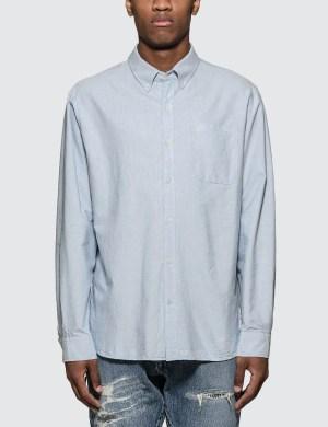 Denim By Vanquish & Fragment Icon Oxford L/S Shirt
