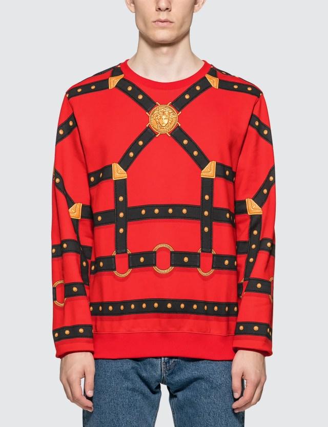 Versace Harness Print Sweatshirt