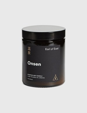 Earl Of East Onsen Soy Wax Candle 170ml