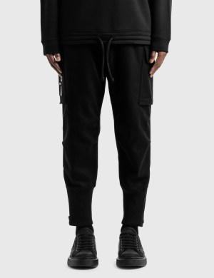 Emporio Armani R-EA Show Wool Blend Track Pants