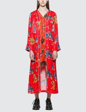 Kirin Haetae Viscose Pajama Dress