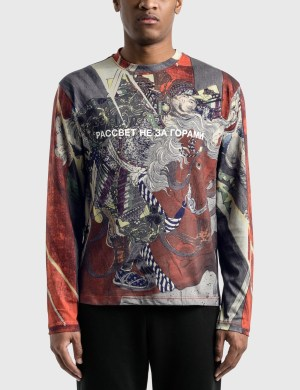 Rassvet Paccbet Artwork Printed Long Sleeve T-Shirt