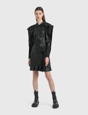 KOCH Vegan Leather Dress