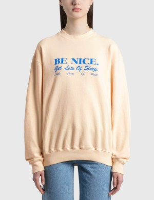 Sporty & Rich Be Nice Crewneck