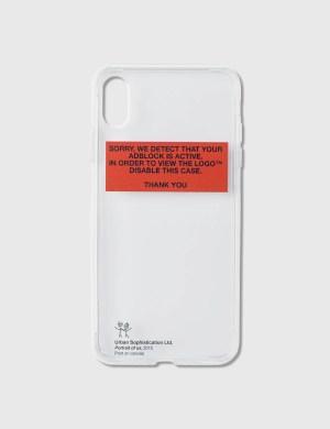 Urban Sophistication Adblock Iphone Cover
