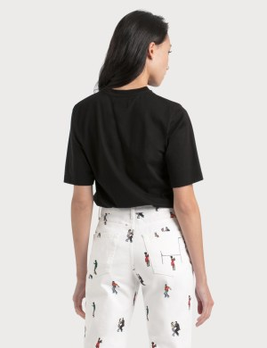Kirin Personal DJ Flocked Cotton T-Shirt