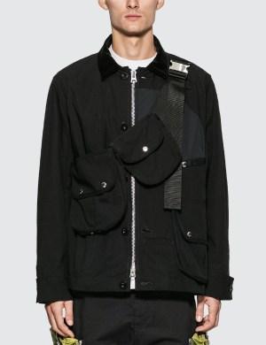 Sacai Oxford Blouson Jacket