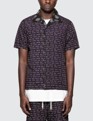 Sasquatchfabrix. Sensou Open Collar H/S Shirt