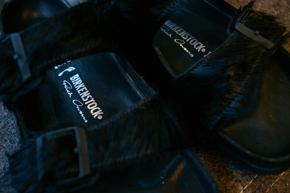 Rick Owens Birkenstock Sandals Pony Hair Collaboration Los Angeles Pop Up Interview Comfort Michele Lamy Yimmy Yayo Sarah Andelman colette Family Son Recap Event Opening