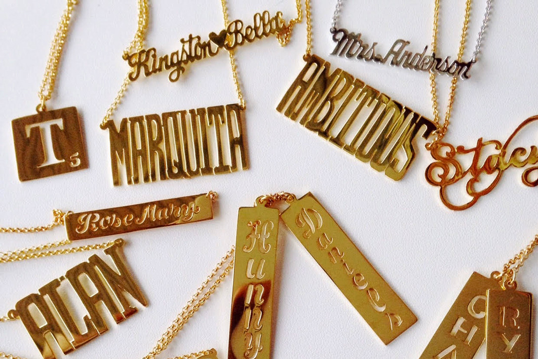 Best Nameplate Jewelry Shops In New York City Hypebae