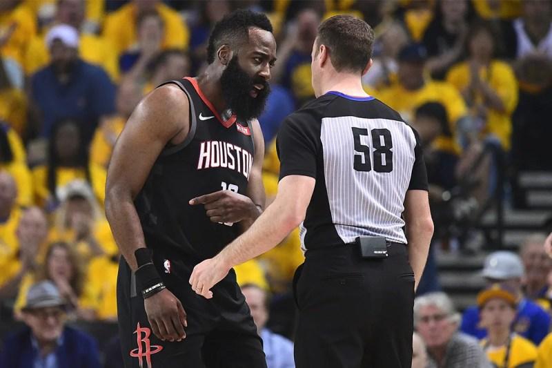 NBA 季後賽 2019 − James Harden 指出裁判多次漏判 Warriors 犯規 | HYPEBEAST