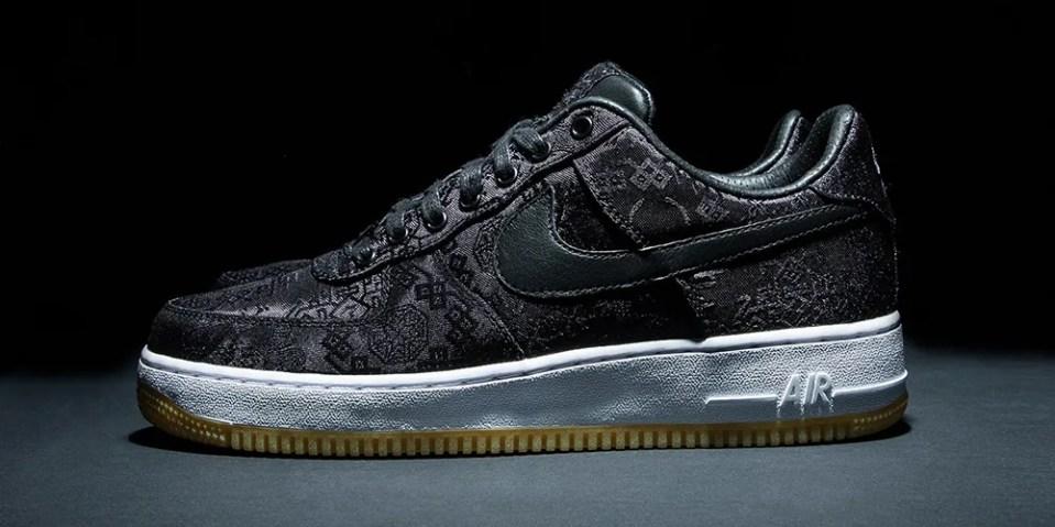 率先預覽 CLOT x Nike Air Force 1 全新「Rose Gold Silk」配色鞋款   HYPEBEAST
