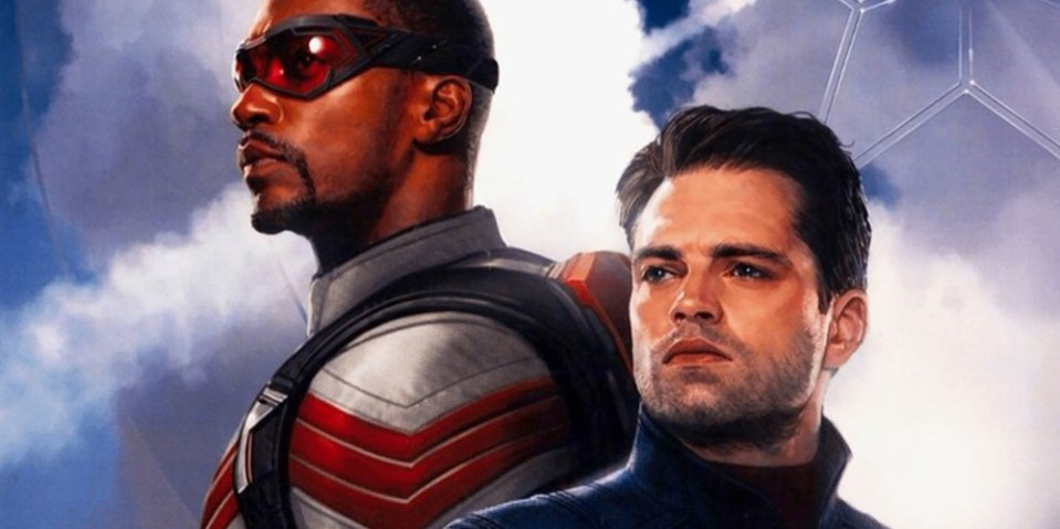 Marvel 全新英雄影集《The Falcon and The Winter Soldier》官方海報正式曝光   HYPEBEAST