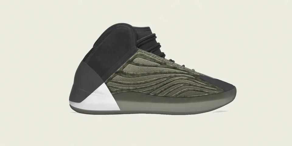 adidas YEEZY 籃球鞋 YZY QUANTUM 最新配色「Barium」率先登場   HYPEBEAST