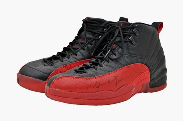 The most expensive Jordans are the Air Jordan 12, 'Flu Game' $300.000