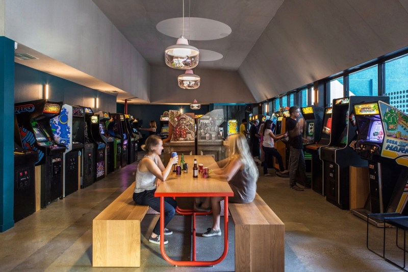 Button Mash Combines Bar And Restaurant With Arcade