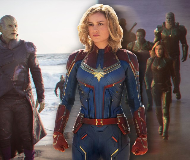 Captain Marvel Trailer Brie Larson Information News Reactions Kree Guardians Of The Galaxy Nick Fury Jude
