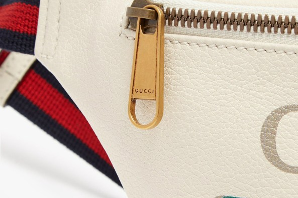 Image result for Gucci Drops a Vintage-Style Belt Bag in Off-White Leather