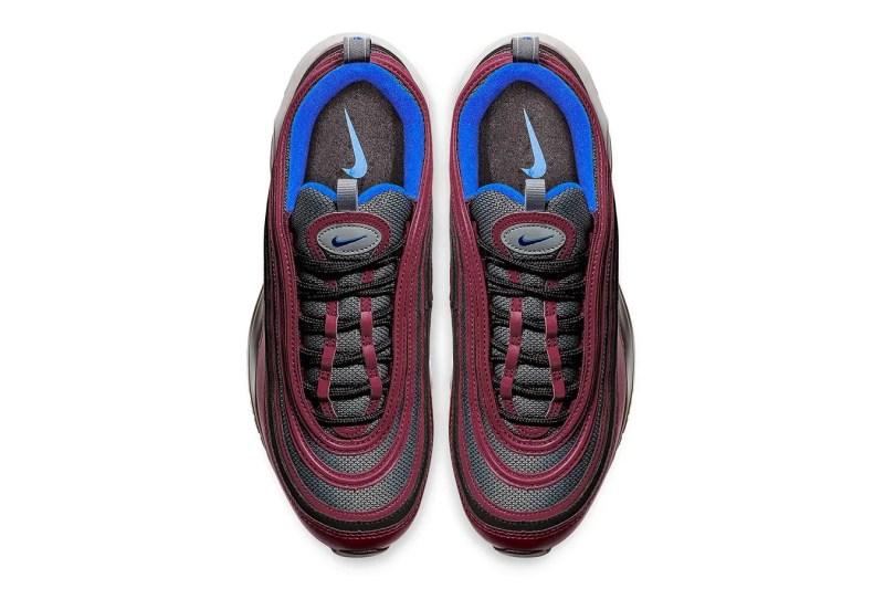 nike air max 97 maroon blue release