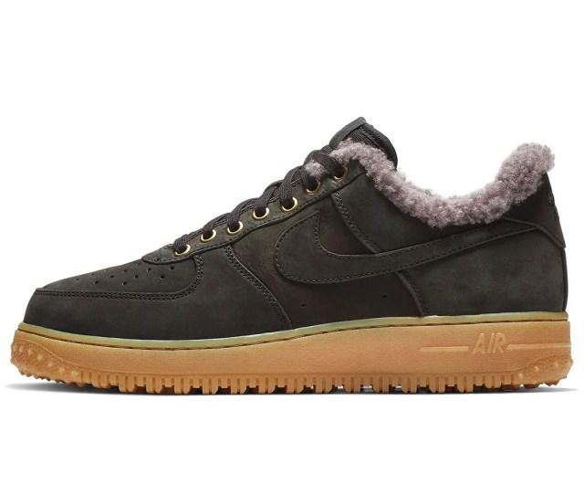 Nike Air Force 1 Low Premium Winter Release Info Date Black Thunder Blue Gum Light Brown