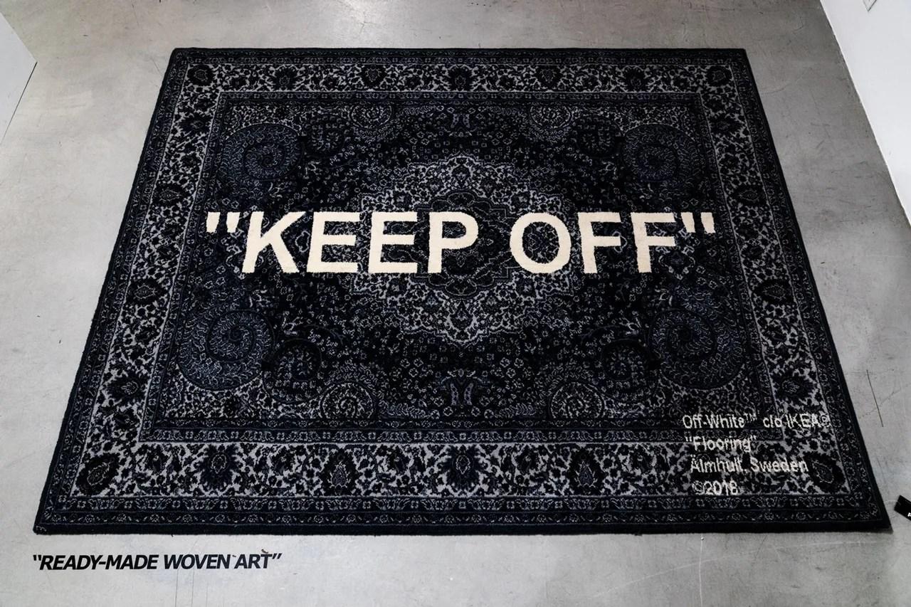 Virgil Abloh X Ikea Keep Off Rug Release Hypebeast