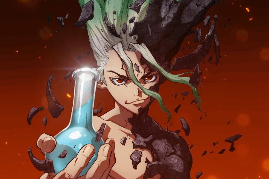 dr stone anime preview