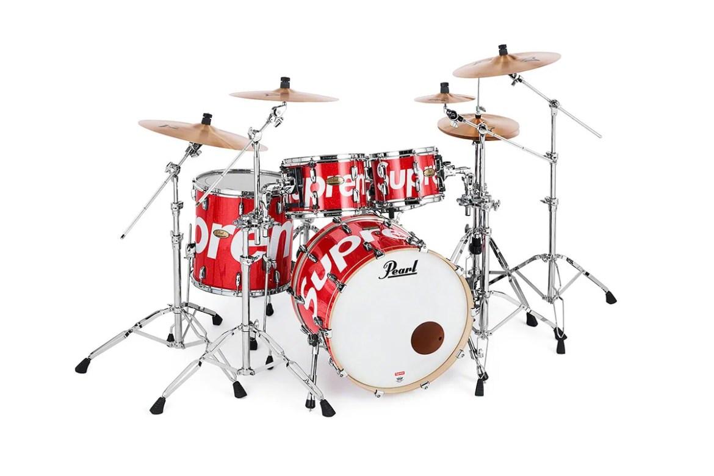 supreme x pearl drum kit release price