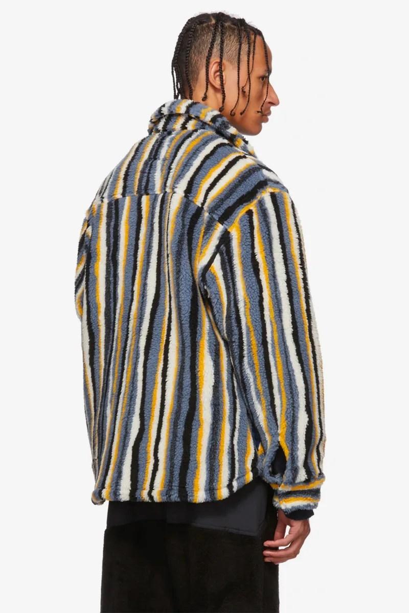 NAPA by Martine Rose Beige & Black A-Jag Jacket | HYPEBEAST