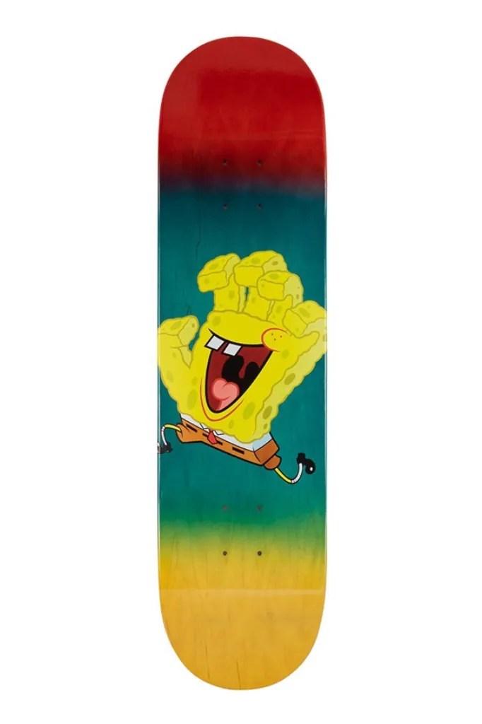 Sponge Bob Skate : sponge, skate, SpongeBob, SquarePants, Santa, Skateboards, Decks, HYPEBEAST