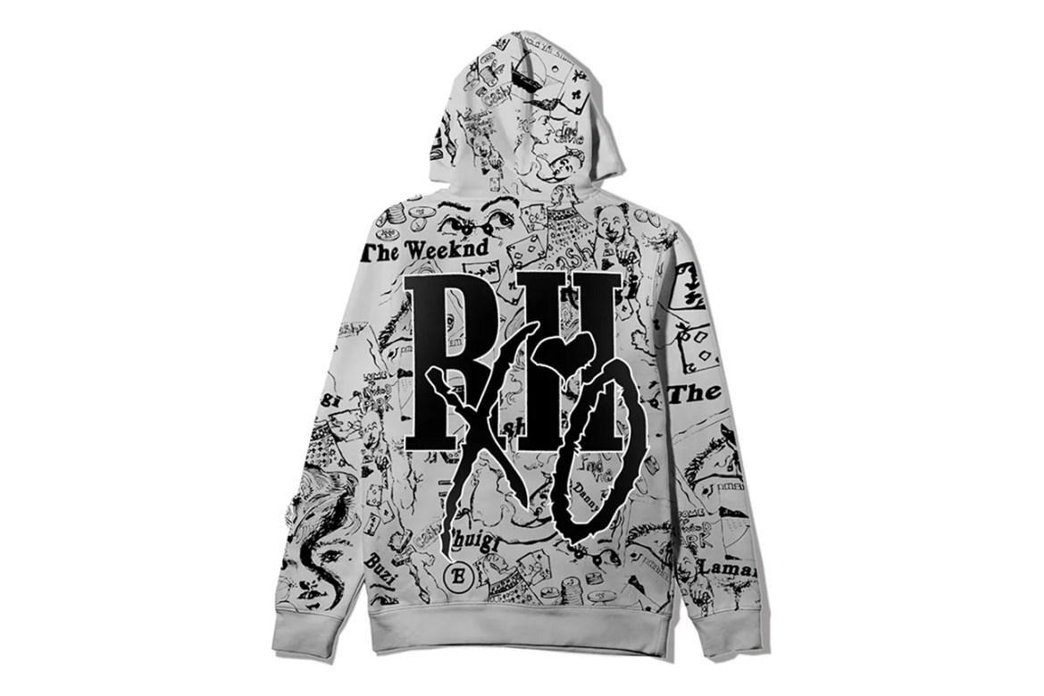 Rhuigi Villaseñor, A$AP Rocky, AWGE The Weeknd Merch after hours album tour pass tee shirt limited edition 24 hours buy web store hoodie xo clothing apparel rhude art dealer