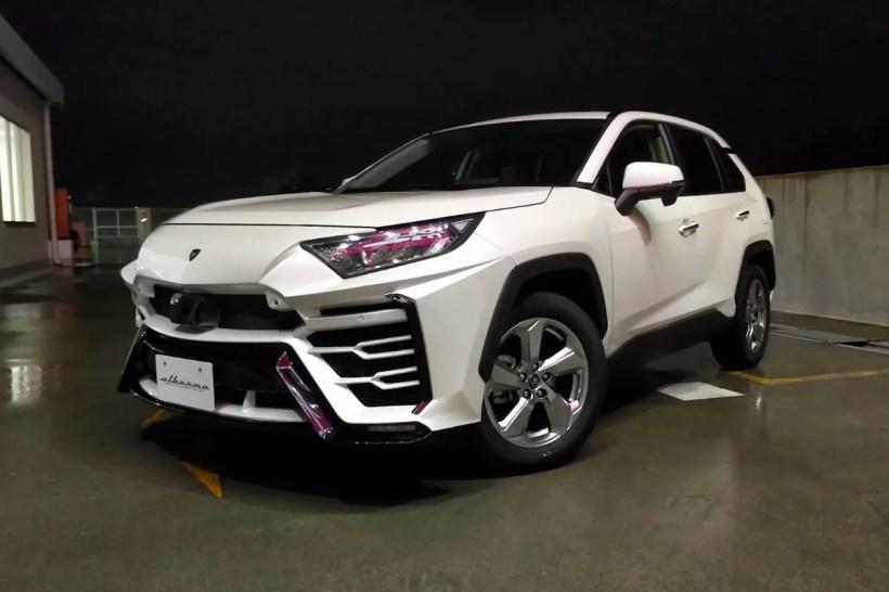 Albermo's Toyota RAV4 Lamborghini Urus Body Kit caesar japanese car manufacturer release info xr51