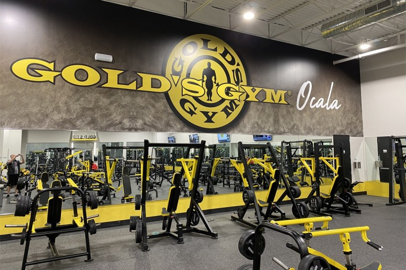 gold's gym health fitness training center chapter 11 bankruptcy protection