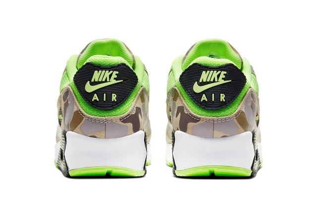 nike sportswear air max 90 duck camo ghost green CW4039 300 release date info photos price