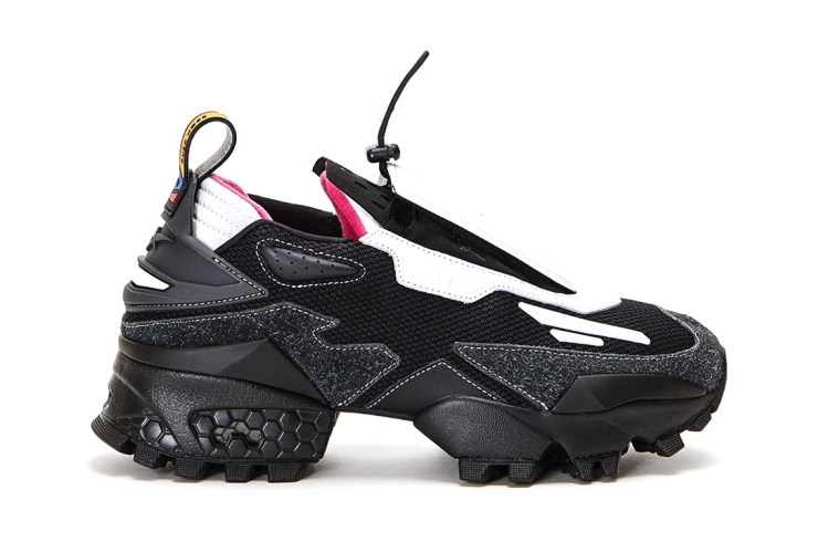 pyer moss kerby jean raymond reebok experiment 4 fury trail innocence project charity black lives matter black white red yellow official release date info photos price store list buying guide