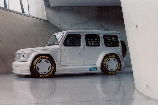 Virgil Abloh mercedes benz unique car g-class release gorden wagener how much one of a kind unique art fashion automotive cars