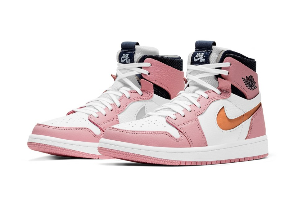 air jordan 1 high zoom cmft pink glaze