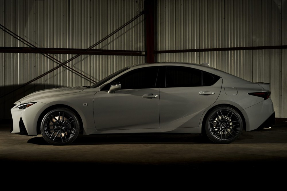 2022 Lexus IS 500 F SPORT Performance Launch Edition 1-of-500 Limited Rare V8 Japanese Four Door Saloon Muscle Car North America United States USA Serialized