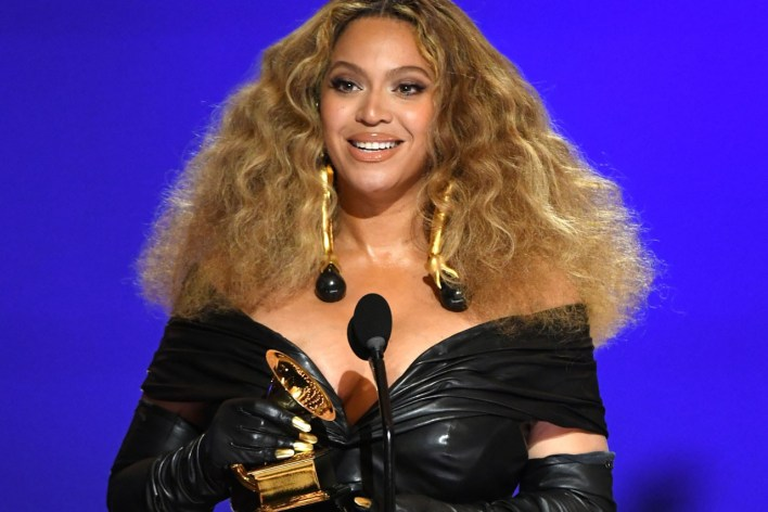 Beyoncé Makes Grammy History After 28th Win most decorated female artist Megan Thee Stallion jay-z music awards blue ivy