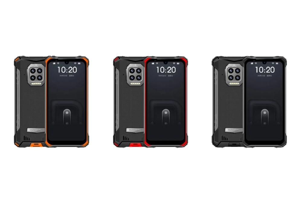 doogee rugged smartphones s86 8500mAh battery capacity dual sim quad camera helio processor Info