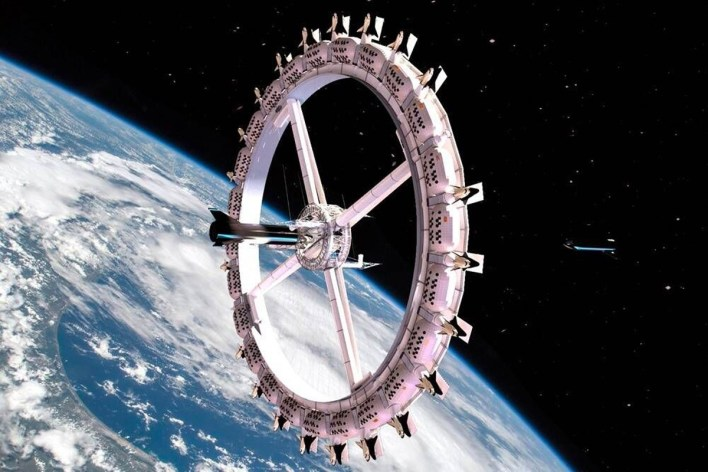 Voyager Station World's First Luxury Space Hotel Orbit Assembly Corporation OAC First Assembly Space NASA outerspace Private space stations vacation travel space travel artificial gravity