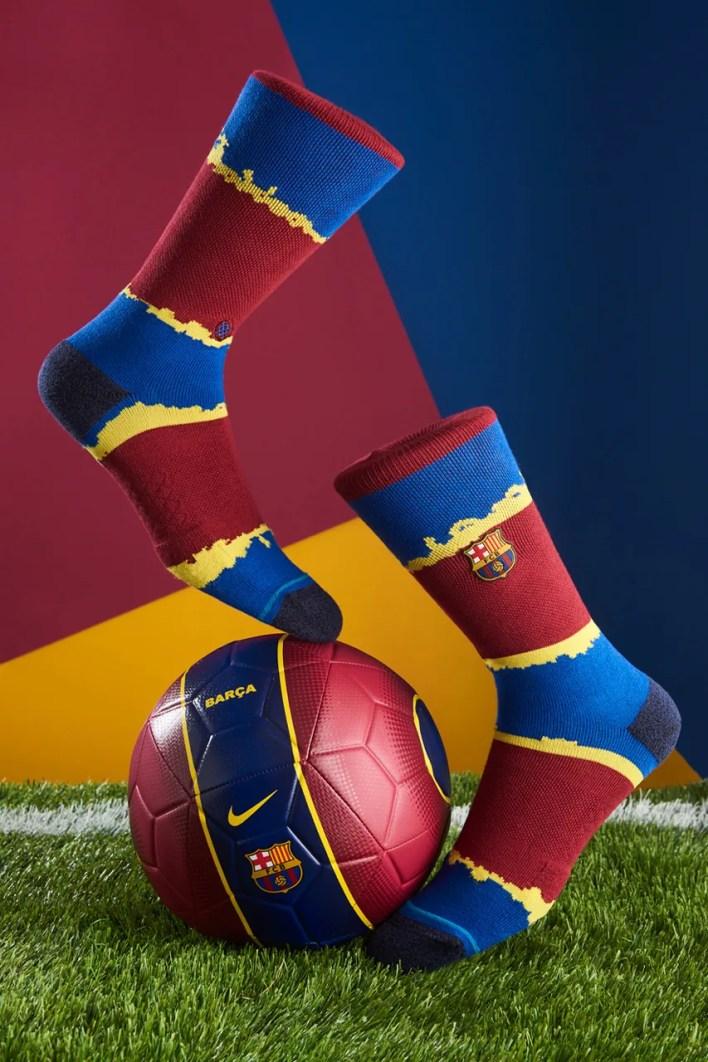 Stance x FC Barcelona Sock Capsule Release Info football nou camp La liga