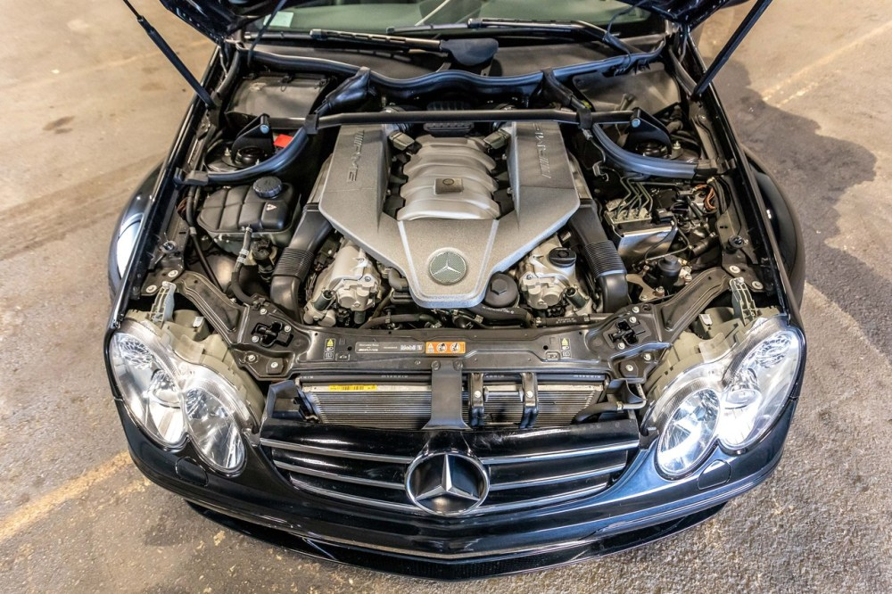 2008 Mercedes-Benz CLK 63 AMG Black Series 6.2 Liter V8 German Engine Limited Edition Rare Supercar Coupe RM Sotheby's Auction For Sale