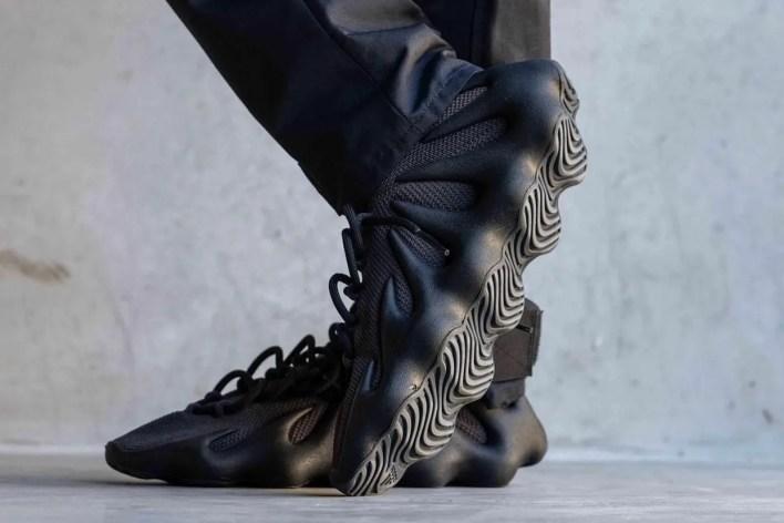 "adidas YEEZY 450 ""Dark Slate"" On-Foot Look | HYPEBEAST"