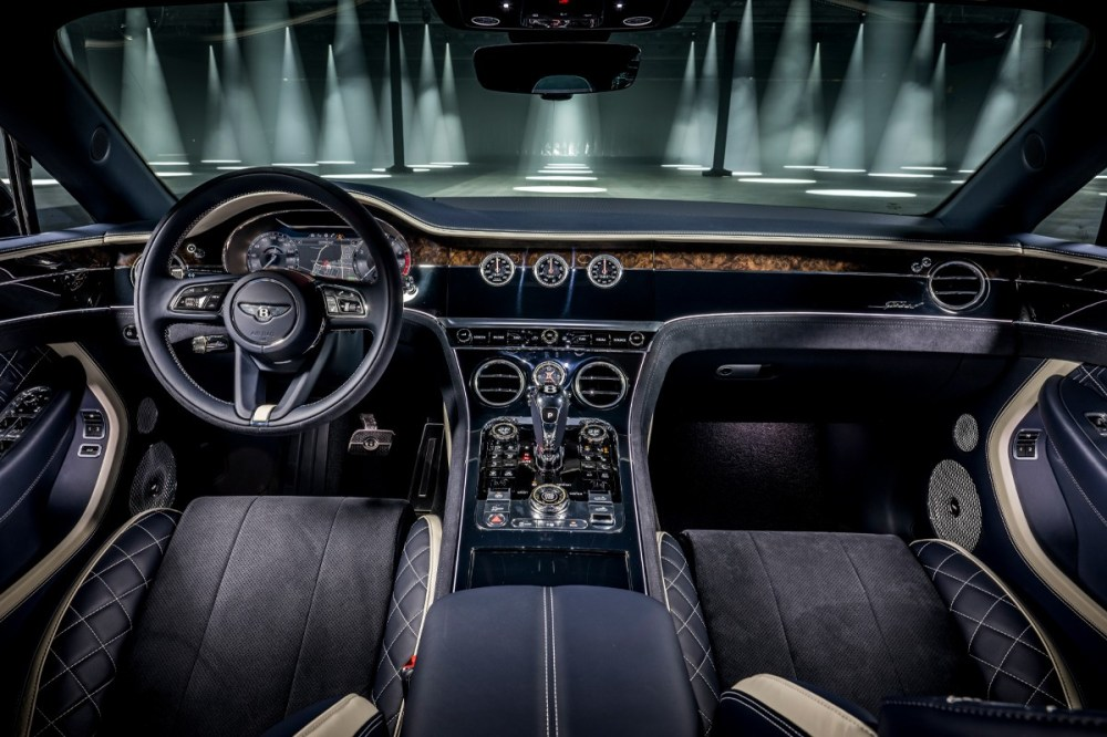 Bentley Officially Launches Its 2022 Continental GT Speed Convertible Bentley Motors Automobile Horsepower Grand Tourer Continental GT range all-wheel steering electronic rear luxury cars automotives