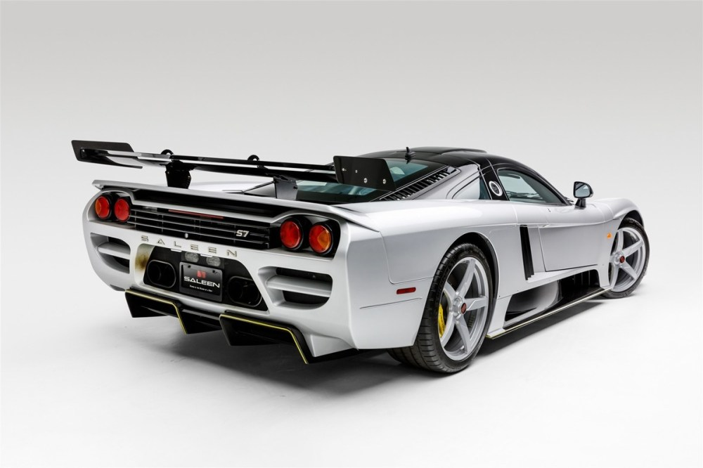 bonhams 2007 saleen s7 lm rebuilt hypercar 1000 horsepower v8 engine turbocharged twin supercar racing auctions limited edition